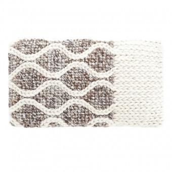 Rhombus Cushion Ivory Gan Rugs