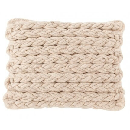 Coussin Trenzas Gan Rugs Ivory Coussin Trenzas Ivory Gan Rugs