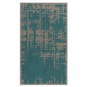 Tapis Abstract Mini Green Gan Rugs