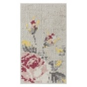 Tapis Flowers Color Mini Natural Gan Rugs
