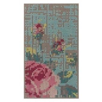 Tapis Flowers Color Mini Natural Gan Rugs