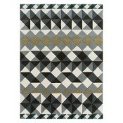 Tapis Mosaiek Hand tufted Grey 170x240 cm Gan Rugs