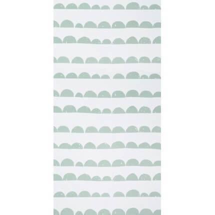 Papier peint Half Moon Ferm Living Mint/White 158 Ferm Living