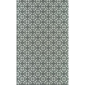 Papier peint Sussex DG Noir/Blanc Designers Guild