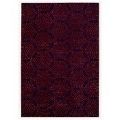 Tapis Shalimar 170x240 cm Blueberry/Burgundy Sahco