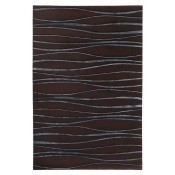 Tapis Sinus 170x240 cm Shadow/Chocolate Sahco