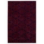 Tapis Shalimar 200x300 cm Blueberry/Burgundy Sahco