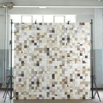 Scrapwood 16 Wallpaper Grège NLXL by Arte