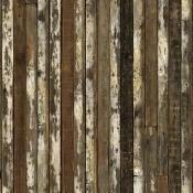 Papier peint Scrapwood 13 Vieilli NLXL by Arte