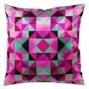 Coussin Bold Cubism Parisian Pink 40x40 cm Mariska Meijers
