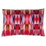 Coussin Bold Cubism Long Picasso Red 35x50 cm Mariska Meijers