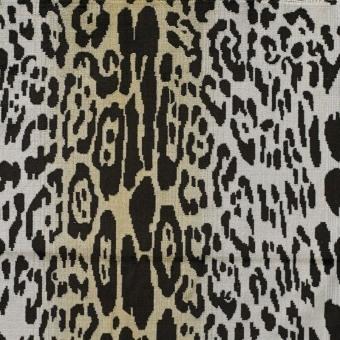 Leopard Velvet Beige Nobilis