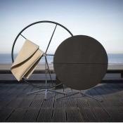 Tissu Sunbrella Supreme Black/Linen flock Sunbrella