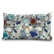 Coussin Perpignan Rectangle Gris/Bleu Missoni Home