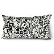 Coussin Cartagena Rectangle Noir/Blanc Missoni Home