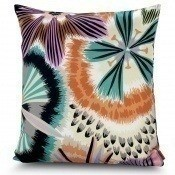 Coussin Passiflora Giant Petit Carré Beige Missoni Home