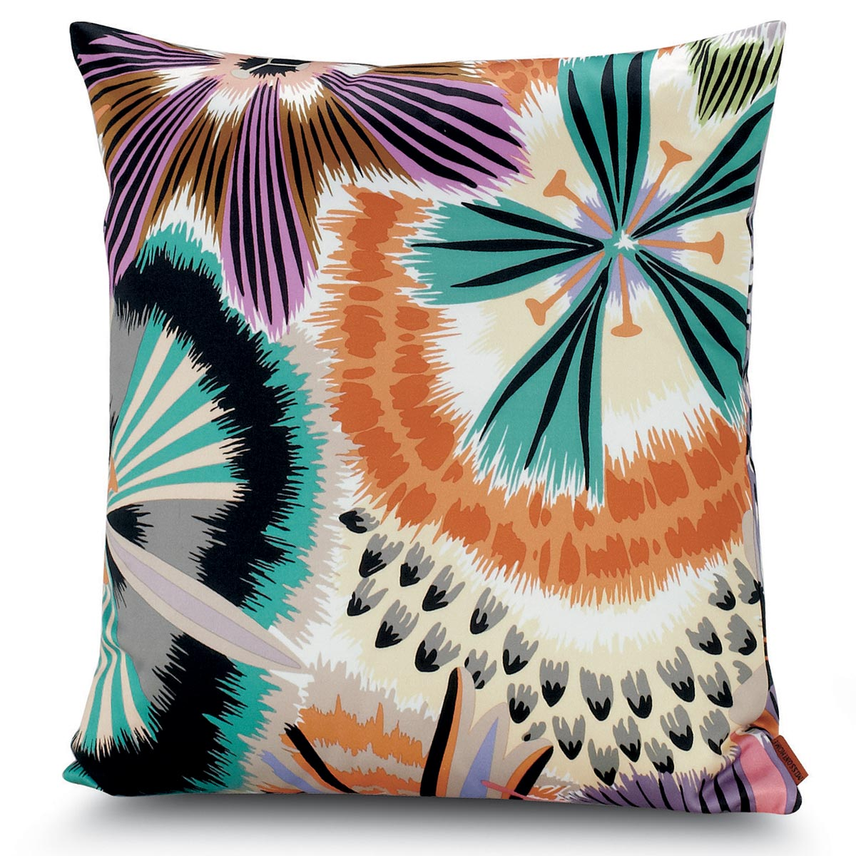 Passiflora Giant Petit Carré Cushion   Missoni Home