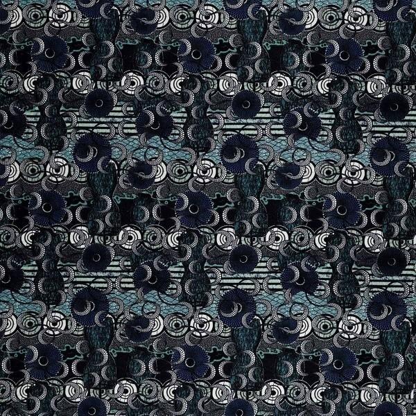 tissu meltingpot jean paul gaultier. Black Bedroom Furniture Sets. Home Design Ideas
