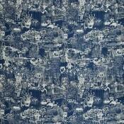 Tissu Street Graphite Jean Paul Gaultier