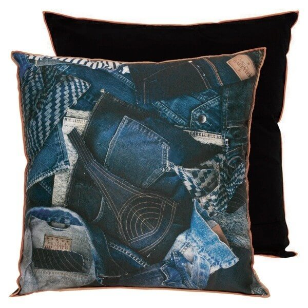 coussin america jean paul gaultier. Black Bedroom Furniture Sets. Home Design Ideas