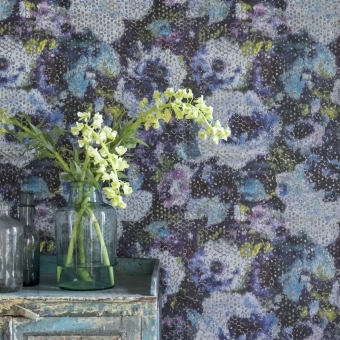 Mattiazzo Wallpaper Azure Designers Guild