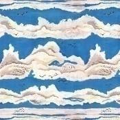 Tissu Azur Bleu Lalie Design