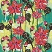 Tissu Nouméa Rose Lalie Design