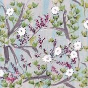 Tissu Fleur de coton Multicolore Lalie Design