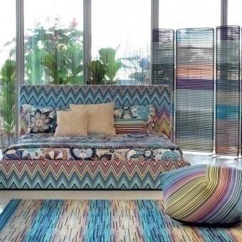 Plaid Perseo Multicolore Missoni Home