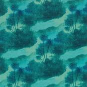 Tissu Cocos Turquoise Matthew Williamson