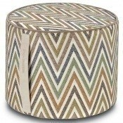 Pouf cylindrique Nesterov Multicolore Missoni Home