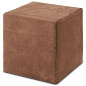 Pouf cube Oman Brun Missoni Home