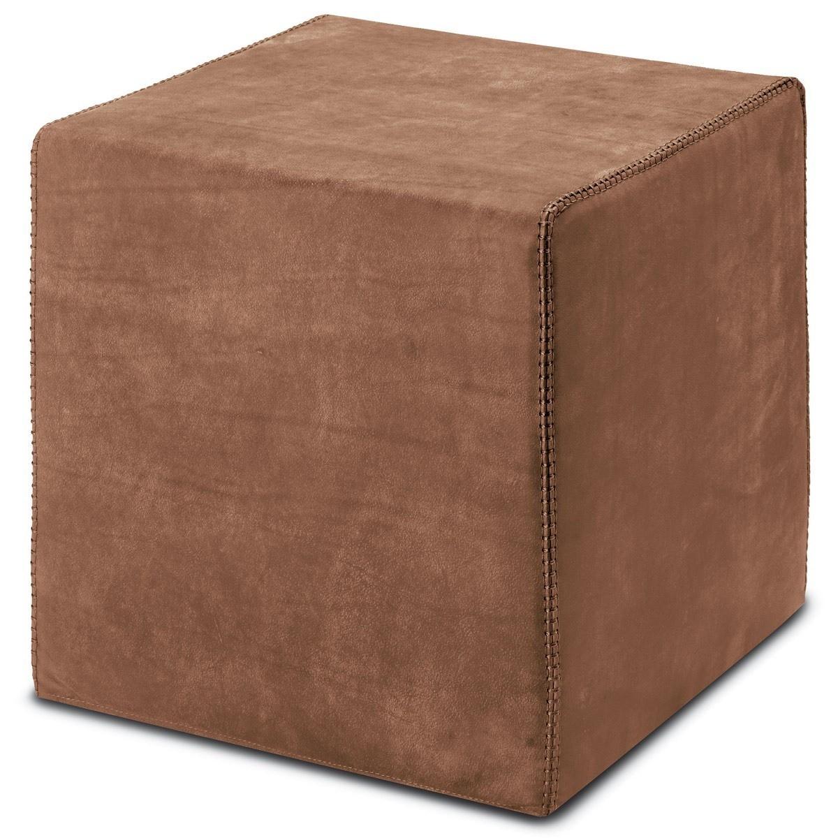 Missoni Home Gravita Oman Leather: Pouf Cube Oman