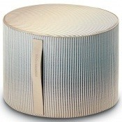 Pouf cylindrique Oleg Beige Missoni Home