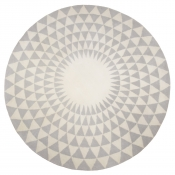 Tapis Concentric Grey 200 cm Niki Jones