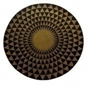Tapis Concentric Black 200 cm Niki Jones