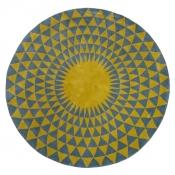 Tapis Concentric Chartreuse 200 cm Niki Jones
