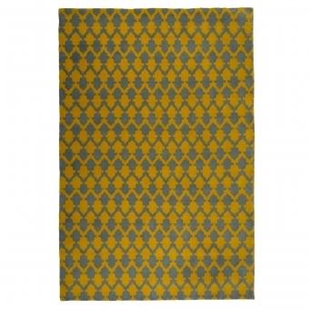 Tapis Lattice Chartreuse 90x150 cm Niki Jones