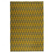 Tapis Lattice Chartreuse 90x150 cm Niki Jones