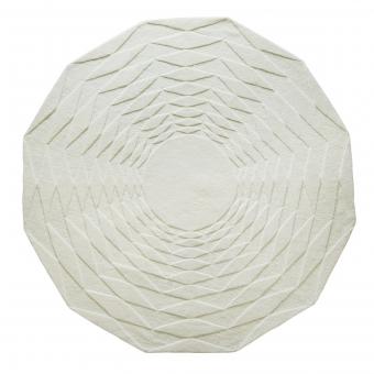 Polygon blanc Rugs 150 cm Niki Jones