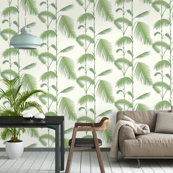 papier peint palm cole and son. Black Bedroom Furniture Sets. Home Design Ideas