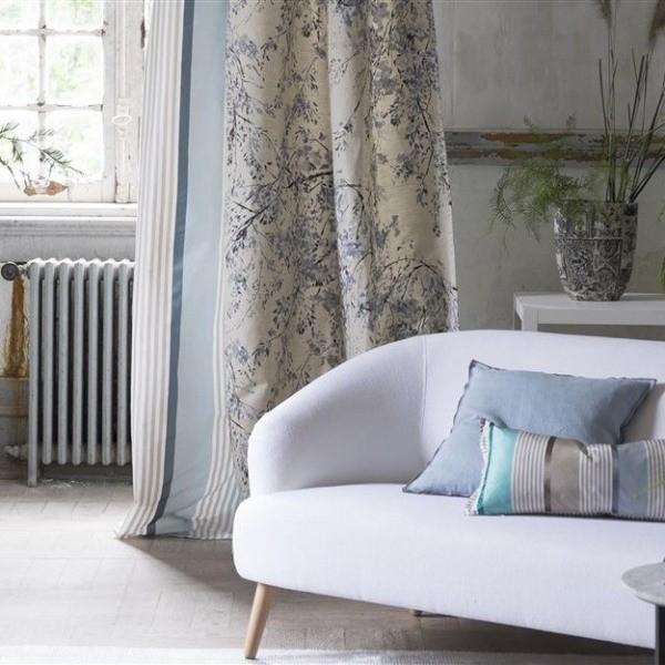 tissu plum blossom designers guild. Black Bedroom Furniture Sets. Home Design Ideas