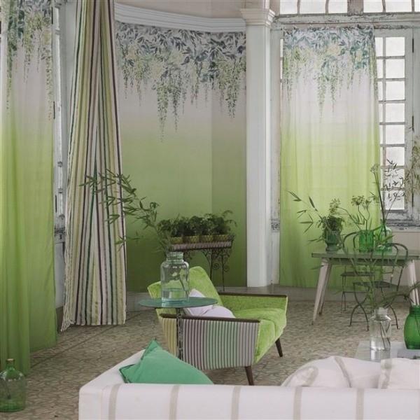 tissu summer palace designers guild. Black Bedroom Furniture Sets. Home Design Ideas