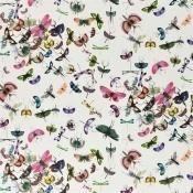 Tissu Mariposa Perroquet Christian Lacroix