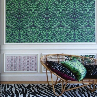 Pantigre Wallpaper Papaye Christian Lacroix