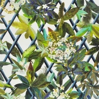 Canopy Wallpaper Argent Christian Lacroix