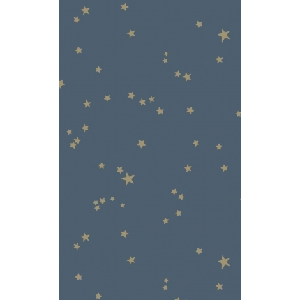 Papier peint Stars Cole and Son Minuit/Or 103/3017 Cole and Son