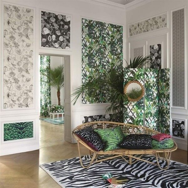 papier peint canopy christian lacroix. Black Bedroom Furniture Sets. Home Design Ideas