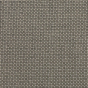 Tissu Colline Écru/Noir Kvadrat