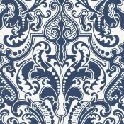 Papier Peint Gwynne Damask Porcelain Ralph Lauren